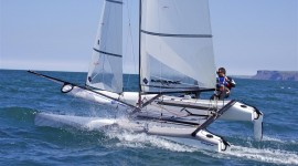 Verso Rio 2016 con il Nacra 17